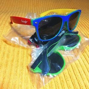 New! Google sunglasses (3 pairs)